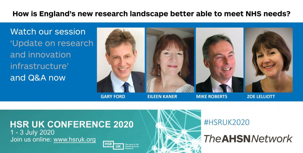 Webinar - update on research and innovation infrastructure - now available to watch online
