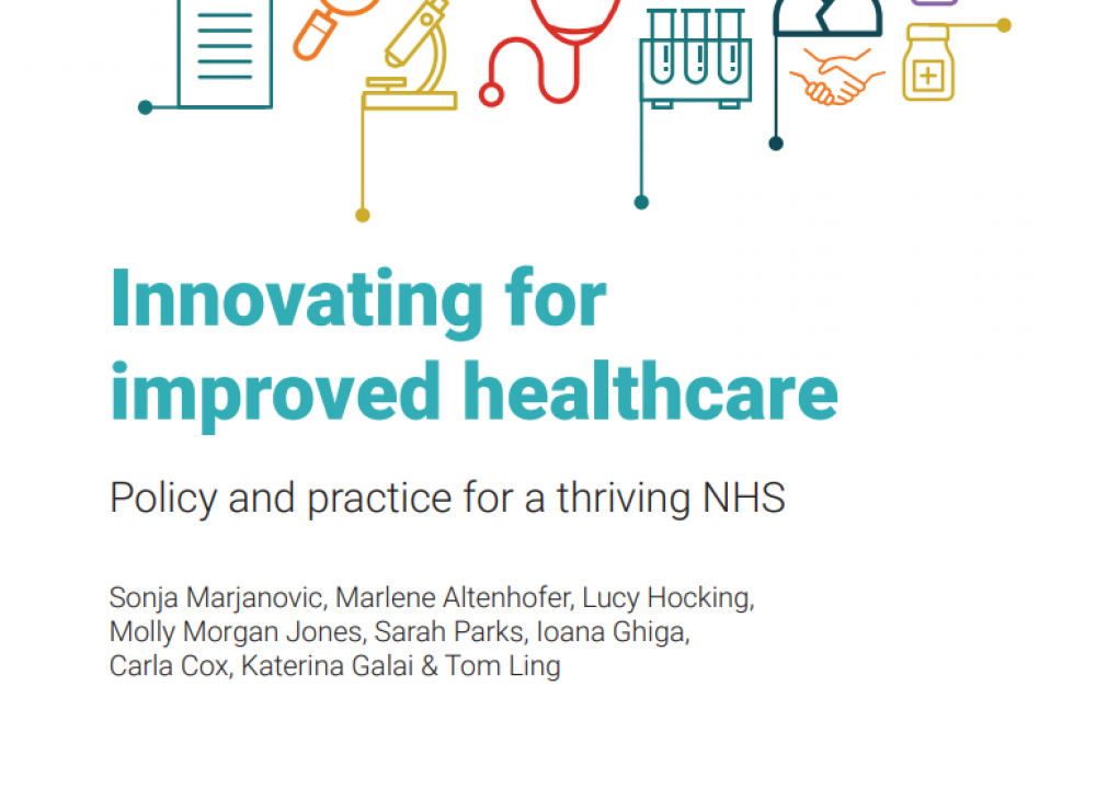 RAND Europe publish new study looking at healthcare innovation landscape