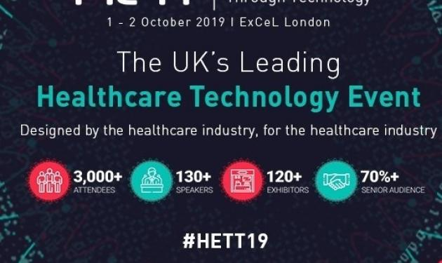 Meet specialists from the AHSN Network at HETT 2019 (Healthcare Excellence Through Technology)