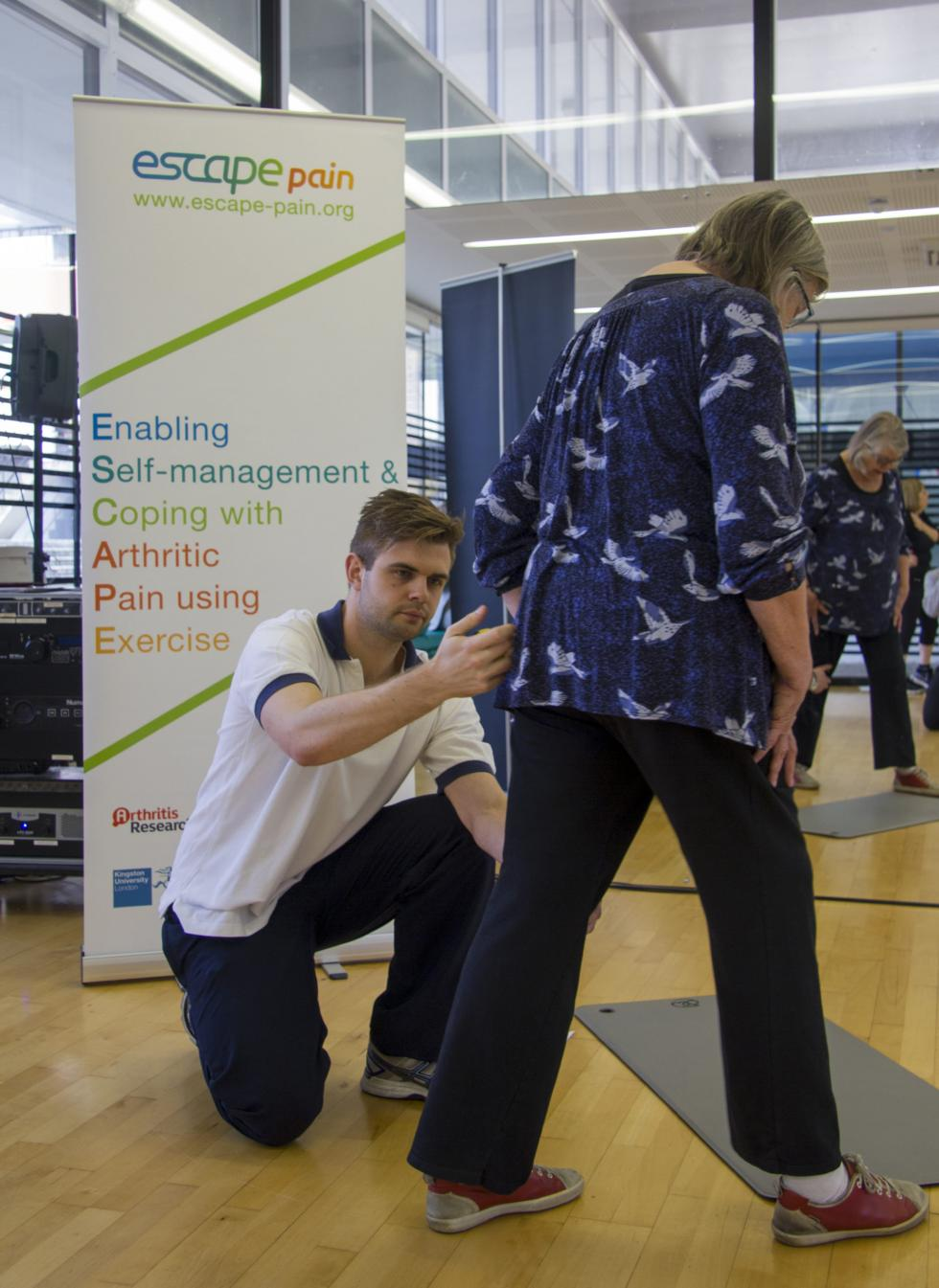 Joint pain programme ESCAPE-pain and young people's Type 1 diabetes initiative win awards