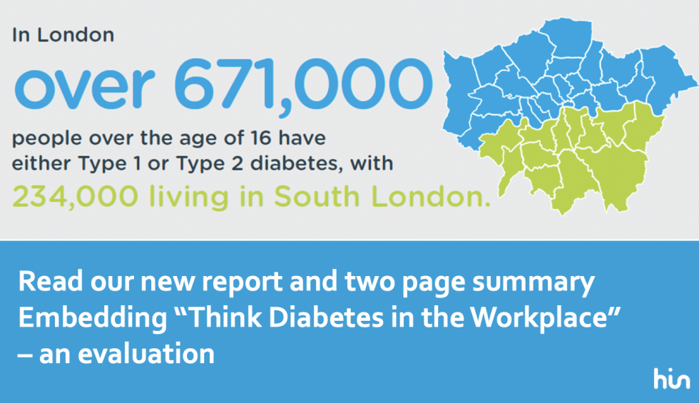 TfL and London Ambulance Service trial workplace diabetes education to improve staff health