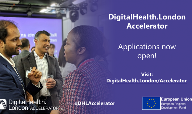 Digital Health.London opens for new applications to Accelerator programme today