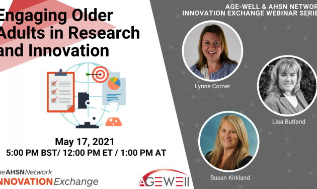 Sign up now for latest International Innovation Exchange webinar on healthy ageing