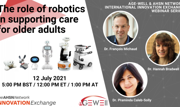 Free international seminar: the role of robotics in supporting care for older adults